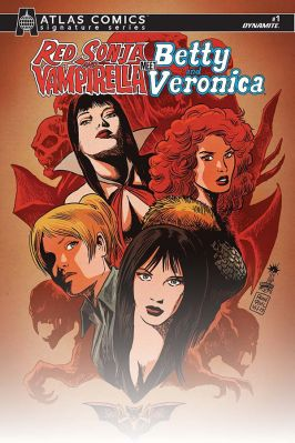 Cover B by Francesco Francavilla (Atlas Edition)
