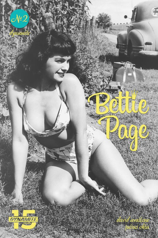 Dynamite Entertainment's Bettie Page: Unbound issue #2 cover D (photo).