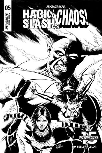 Cover B by Craig Cermak (Black & White)
