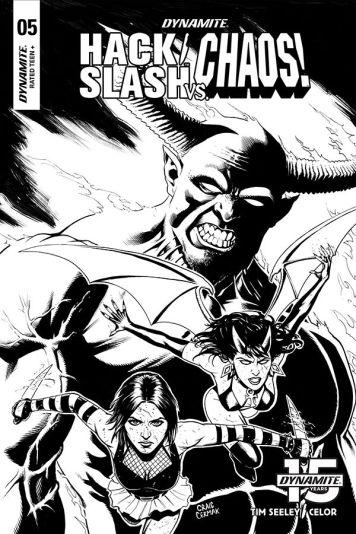 Cover B by Craig Cermak (Black & White)
