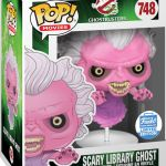 Funko Pop! Movies #748 Ghostbusters Scary Library Ghost [Translucent]