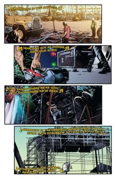 Dynamite Entertainment's KISS: The End issue #3 preview page 2