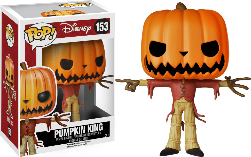 Funko Pop! Disney #153 The Nightmare Before Christmas Pumpkin King