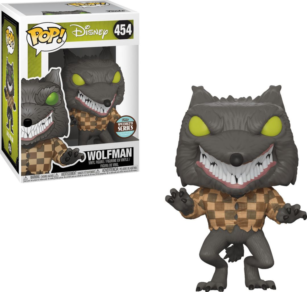 Funko Pop! Disney #454 The Nightmare Before Christmas Wolfman