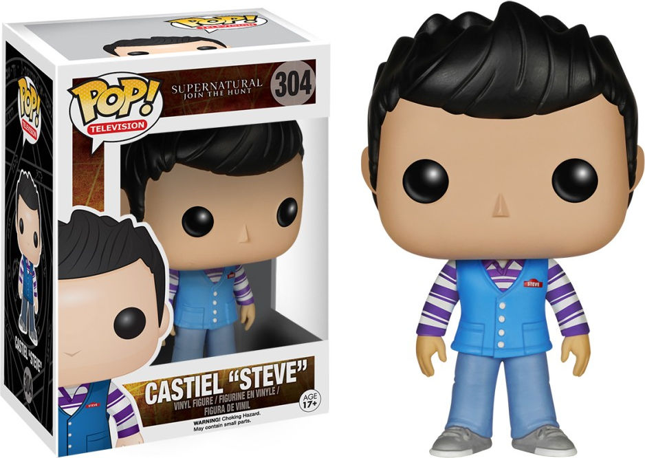 "Funko Pop! Television #304 Supernatural Castiel ""Steve"""
