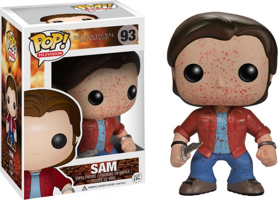 Funko Pop! Television #93 Supernatural Sam [Bloody]