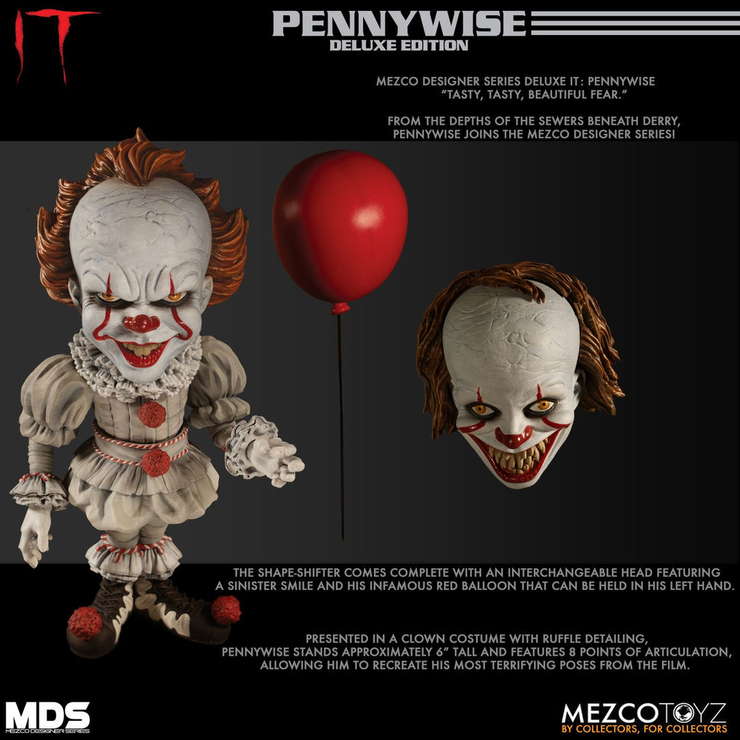 Mezco Toyz MDS 'IT (2017)' Deluxe Pennywise | Grave Decay