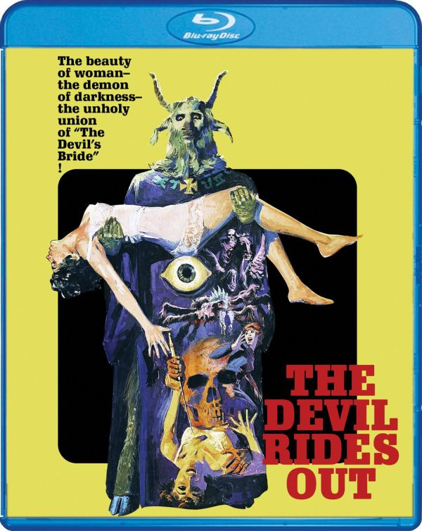 Scream Factory The Devil Rides Out bluray cover