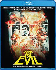 Scream Factory Fear No Evil Blu-ray Cover