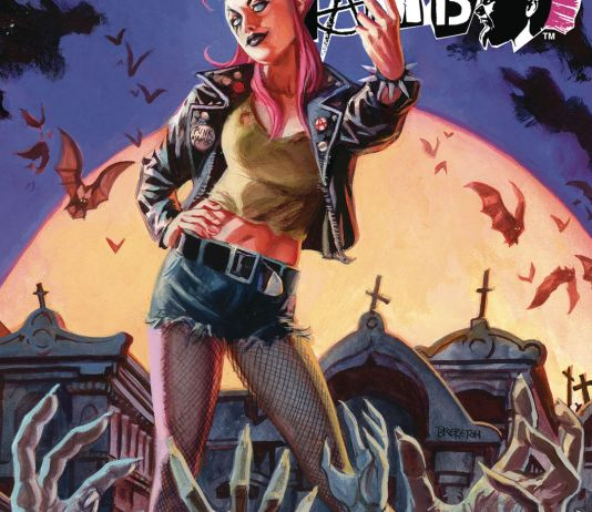 Valiant Entertainment's Punk Mambo issue #3 cover A by Dan Brereton