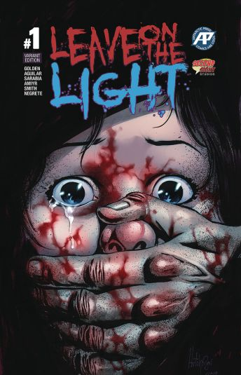 Anarctic Press' Leave On the Light Issue #1 Foil Cover by Helmut Racho & Oscar Pinto