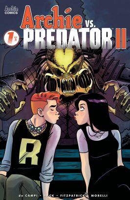Archie Comics' Archie vs Predator II issue #1 cover C by Derek Charm.