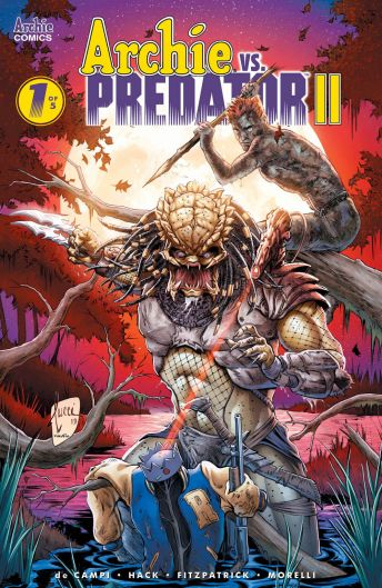 Archie Comics' Archie vs Predator II issue #1 cover F by Billy Tucci.