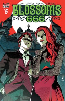 Archie Comics' Blossoms 666 issue #5 cover C by Pat Zircher.