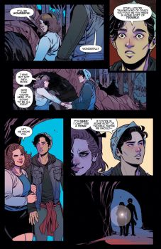Archie Comics' Blossoms 666 issue #5 page 4.