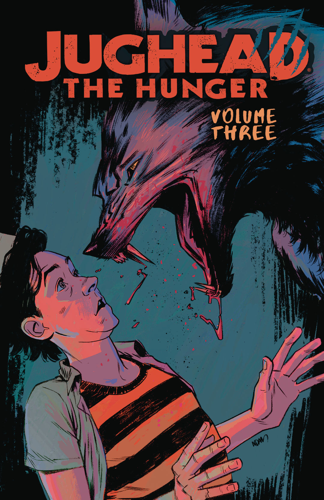 Archie Comics Juhead The Hunger volume 3 cover by Adam Gorham.