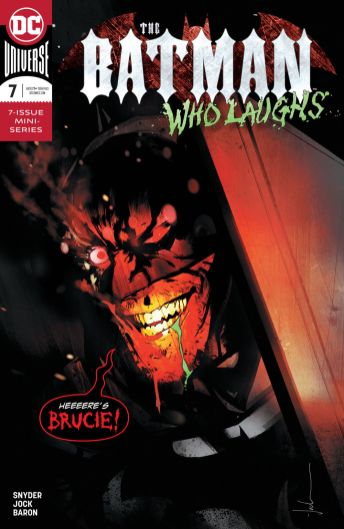 DC Comics' The Batman Who Laughs Issue #7 Cover A by Jock