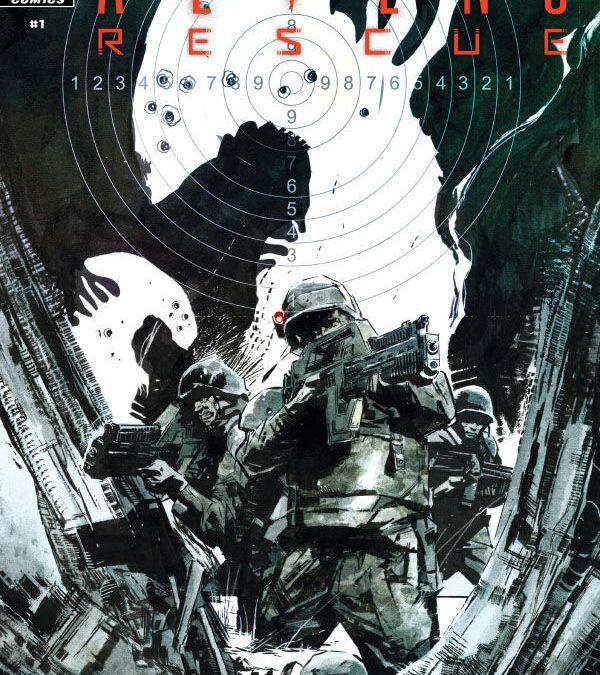 Dark Horse Comics' Aliens: Rescue issue #1 cover A by Roberto De LaTorre.