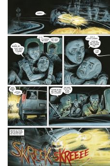 Dark Horse Comics' Manor Black Issue #1 Preview Page 1