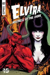 Dynamite Entertainment's Elvira: Mistress of the Dark issue #7 cover B by Craig Cermak.