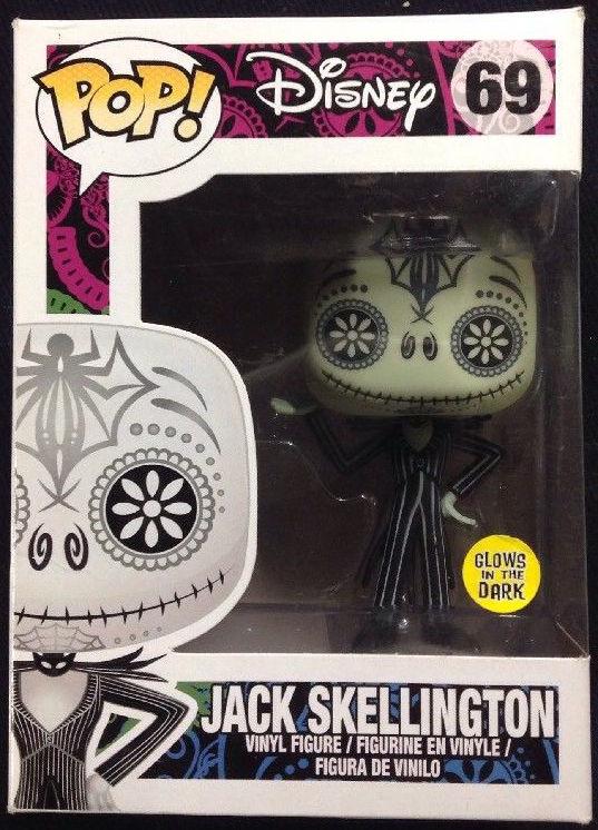 Funko Pop! Disney #69 The Nightmare Before Christmas Jack Skellington [Day of the Dead, Glow-in-the-Dark]
