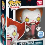 Funko Pop! Movies #781 IT Chapter Two Pennywise Funhouse [Bloody]
