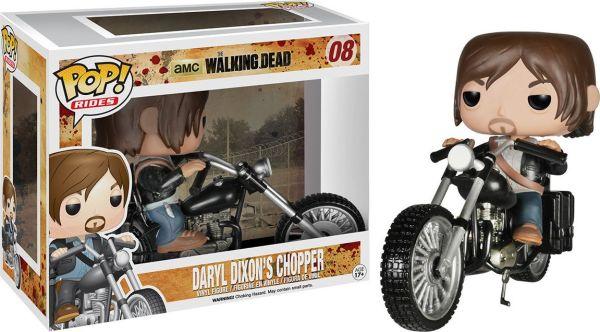 Funko Pop! Rides #08 The Walking Dead Daryl Dixon's Chopper