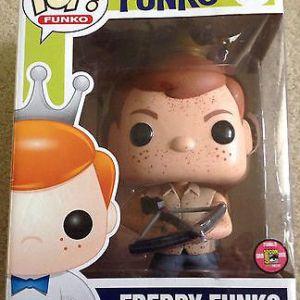 Funko Pop! SE Freddy Funko [as Daryl Dixon, Bloody]