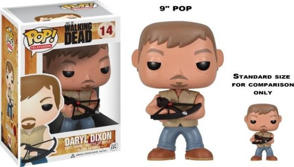 Funko Pop! Television #14 The Walking Dead Daryl Dixon [9-Inch]