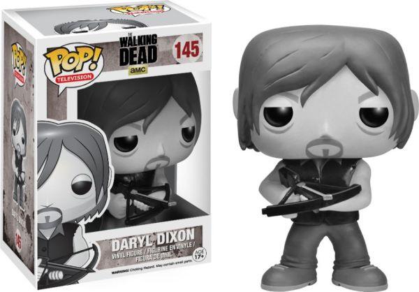 Funko Pop! Television #145 The Walking Dead Daryl Dixon [Black & White]