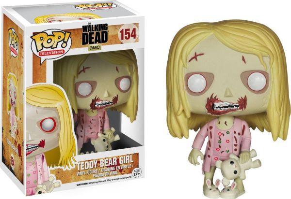 Funko Pop! Television #154 The Walking Dead Teddy Bear Girl