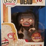 Funko Pop! Television #16 The Walking Dead Bicycle Girl [Bloody]