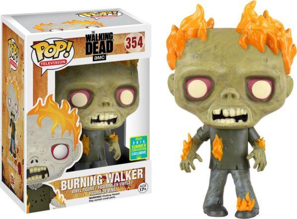 Funko Pop! Television #354 The Walking Dead Burning Walker