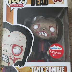 Funko Pop! Television #36 The Walking Dead Tank Zombie [Bloody]