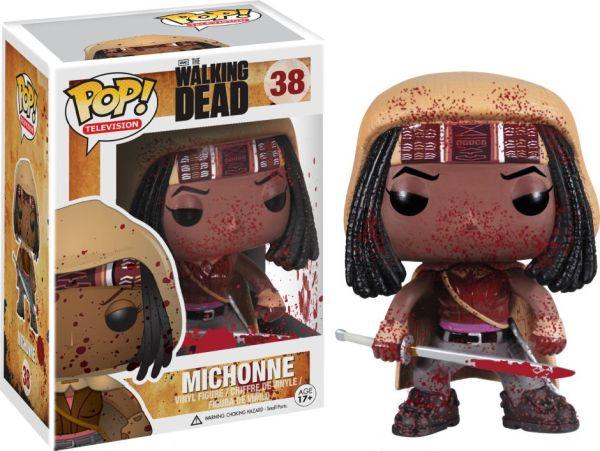 Funko Pop! Television #38 The Walking Dead Michonne [Bloody]