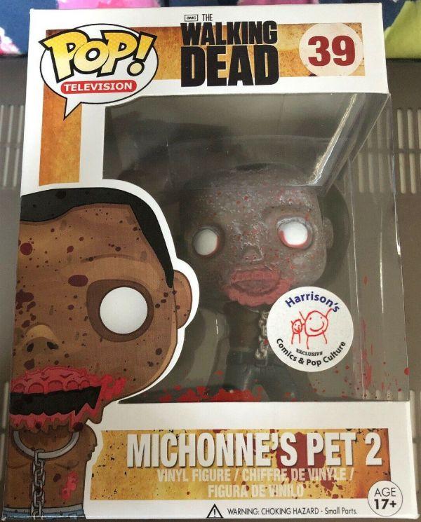 Funko Pop! Television #39 The Walking Dead Michonne's Pet 2 [Bloody]