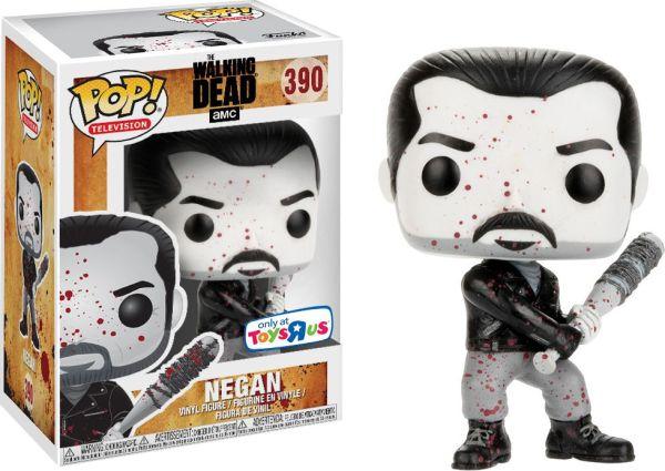 Funko Pop! Television #390 The Walking Dead Negan [Black & White, Bloody]