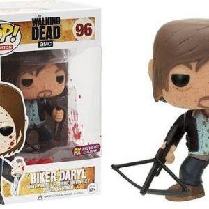 Funko Pop! Television #96 The Walking Dead Biker Daryl [Bloody]