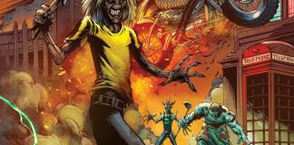 Heavy Metal's Iron Maiden: Legacy of the Beast Vol. 2 - Night City issue #1 cover A.