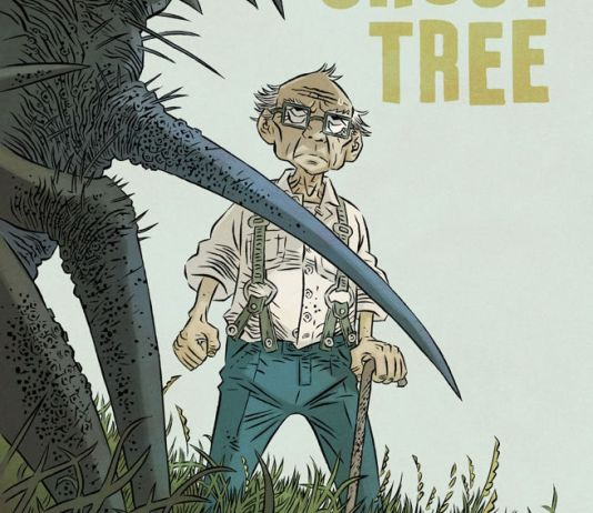 IDW Publishing's Ghost Tree issue #4 cover A by Simon Gane.
