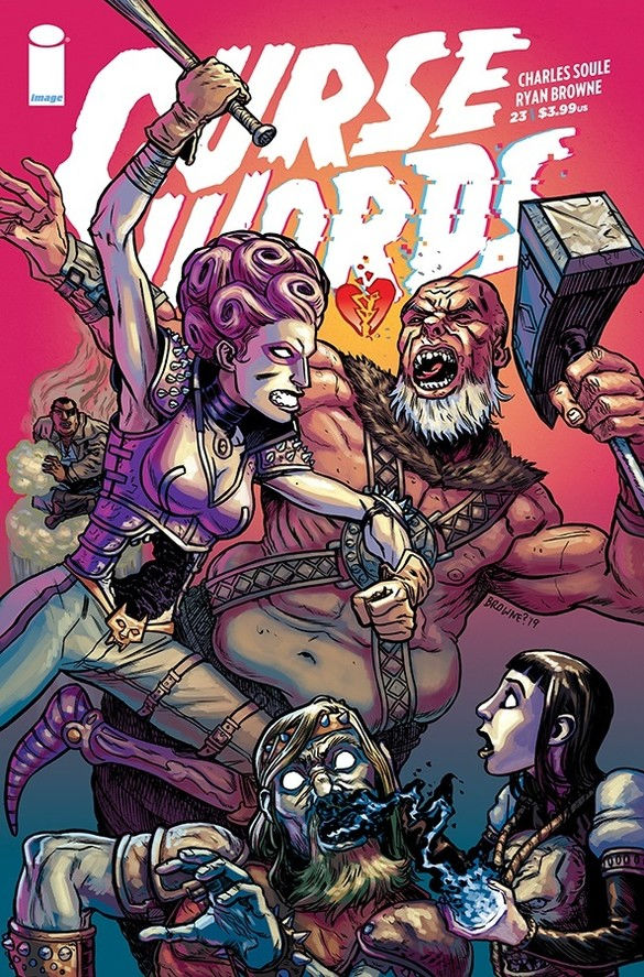 Image Comics' Curse Words issue #23 cover by Ryan Browne.