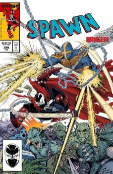 Image Comics' Spawn Issue #299 Cover by Todd McFarlane