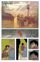 Image Comics Unearth issue #1 preview page 1.
