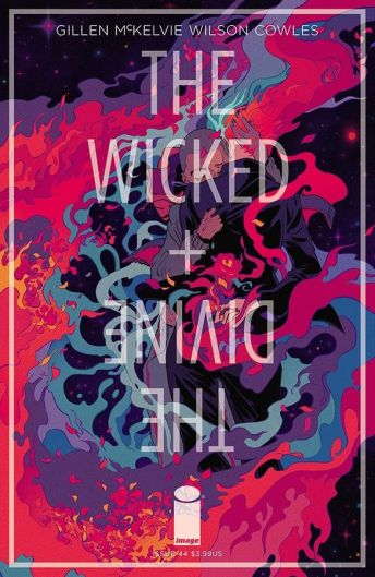Image Comics' The Wicked + The Divine issue #44 cover B by Emma Rios & Miquel Muerto.