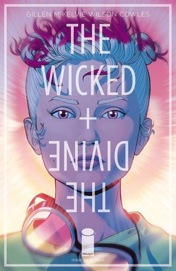 Image Comics' The Wicked + The Divine issue #44 cover A by Jamie McKelvie & Matt Wilson.
