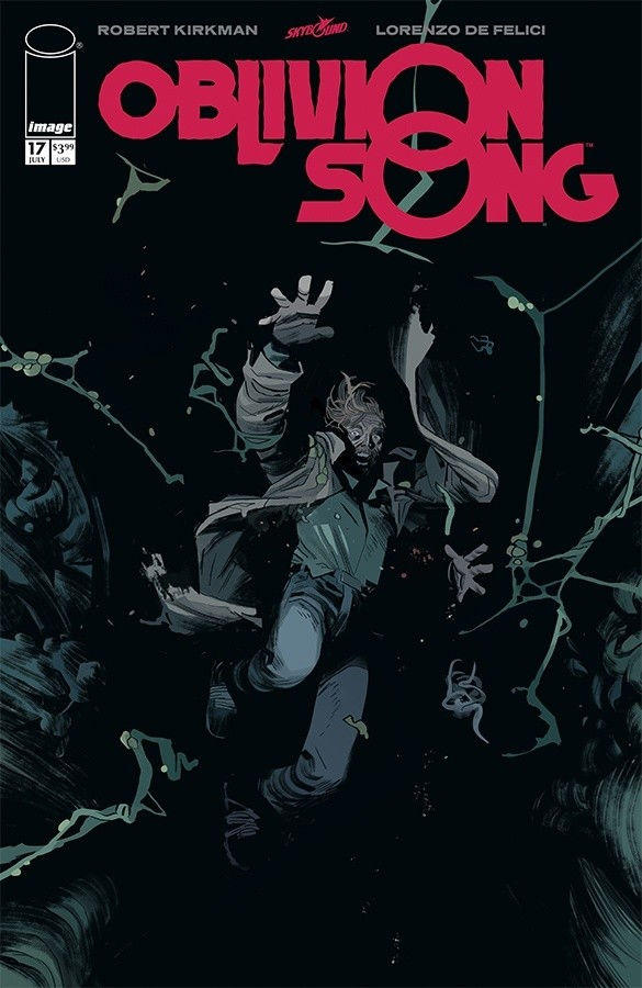 Image Comics & Skybound Entertainment's Oblivion Song issue #17 cover by Lorenzo De Felici.