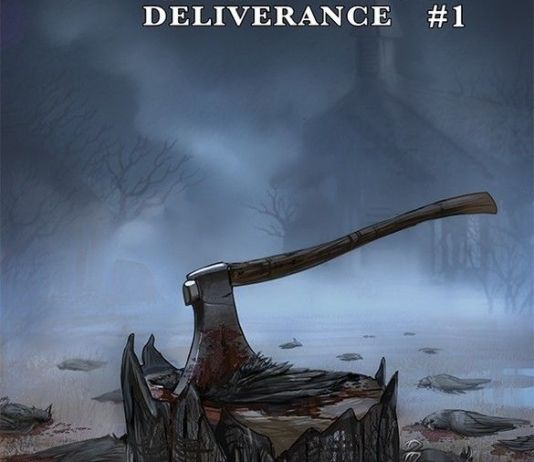 Image Comics & Top Cow Productions' Postal: Deliverance issue #1 cover A by Linda Sejic.