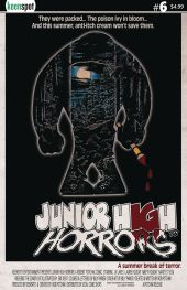 Keenspot Entertainment's Junior High Horrors Issue #6 Cover B by Billy Parker