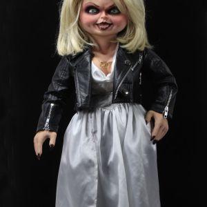 NECA Toys' Bride of Chucky life-size 1:1 scale Tiffany replica (front).