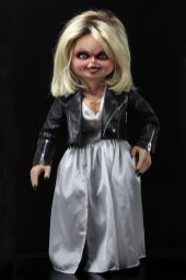 NECA Toys' Bride of Chucky life-size 1:1 scale Tiffany replica (front).